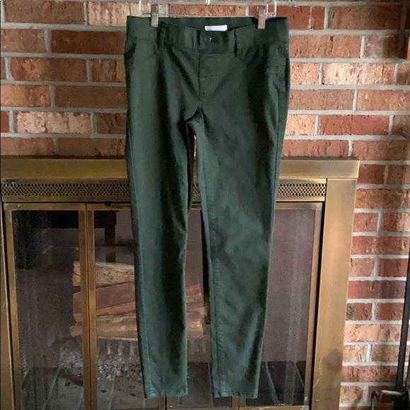 Lauren Conrad pants jeggings dark green size 2